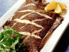Ovnsbakt norsk kveite Main Dishes, Steak, Fish, Main Course Dishes, Entrees, Pisces, Main Courses, Steaks