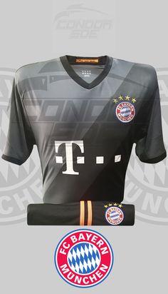 Excelente indumentaria de juego y entrenamiento del grande del fútbol Alemán, Bayer Múnich FC. #uniformes #camisetas #fútbol #bayermunich Bayer Munich Fc, Grande, Sports, Tops, Fashion, Game, Training, T Shirts, Bavaria