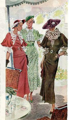 1934 McCall's Dress Patterns