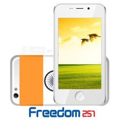 World's Cheapest Android 251 Price 49 Thousands Freedom - Freedom 251 is the cheapest Android smartphone launched by vendors from India named Ringing Bells. The company released a smartphone Freedom 251 on February 18, 2016 with a price tag that is very cheap to far below market price smartphones in general, which is just Rs 251