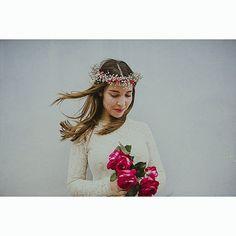Macarena💕  #weddingday #bridal #novias2016 #bodas2016 #bodasmurcia #fotografosmurcia  #love #truelove #weddingstyle  #vsco #ase #shooting #boho #bohowedding #tocados #diademadeflores #uva #vid #fotografodeboda