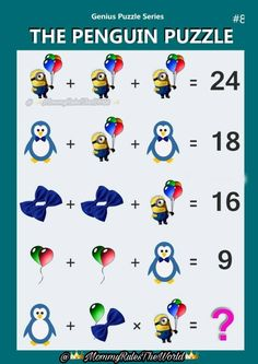 quiz n 9 Picture Puzzles Brain Teasers, Math Puzzles Brain Teasers, Maths Puzzles, Logic Math, Math Quizzes, Math Problem Solving, Math Problems Funny, Iq Puzzle, Math Genius