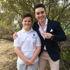 harrisoncraig1:  Ethan from Cavalry Christian College showing me around his terrific school! Thanks Cavalry! Christian College