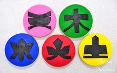 Power Rangers Samurai Sugar Cookies