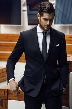 Moda męska Giacomo Conti - kolekcja biznesowa Wiosna/Lato 2014 #giacomoconti