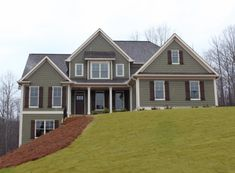 Autumn Brooke - Home Plans and House Plans by Frank Betz Associates