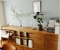ここゆこさんはInstagramを利用しています:「ドウダンツツジ飾りました😆💕長持ちするし、爽やかだしでドウダンツツジの季節待ってました🌿 . ほんとは枝物ももっといろいろ冒険もしたいけど、なかなかできず😁💦 .…」 Arch Interior, Interior Architecture, Interior And Exterior, Space Crafts, Home Office Design, Kidsroom, Office Desk, Corner Desk, Small Spaces