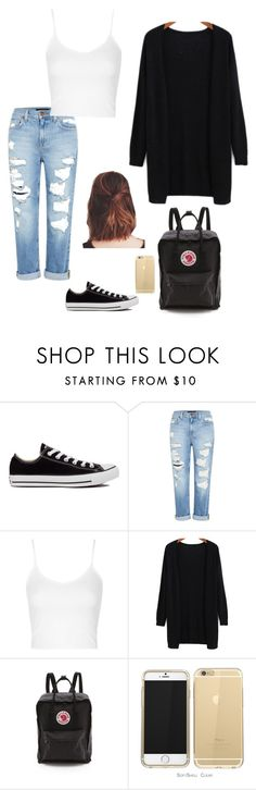 """""""Untitled #126"""" by emmaruus on Polyvore featuring Converse, Genetic Denim, Topshop and Fjällräven"""