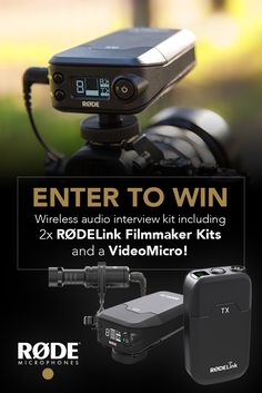 Enter and WIN! RØDE Microphones Wireless Audio Interview Kit worth $876 - Gain more chances to win with social sharing