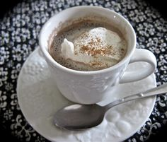 Homemade Hot Cocoa - Comfy in the Kitchen
