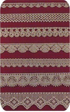 Crochet thread items from small