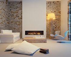 Mueble para salón Calaiaia Fuego Difusión:   Chimeneas en Denia