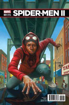 Spider Men II: #1 Variant