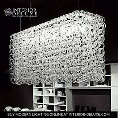 Planning to put up a romantic and elegant restaurant? The Giogali SP RE 1 Chandelieris will surely take your potential patrons/customer's breath away, with its beautifully formed crystals that will shine and sparkle all the time. It's also perfect for your living or dining room.  Get it here today. https://www.interior-deluxe.com/giogali-sp-re-1-chandelier-from-vistosi.html  #ModernLighting #InteriorDeluxe #Vistosi
