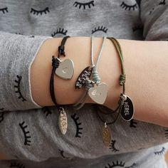 Meisjes armband met naamlabel