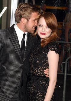 Ryan Gosling and Emma Stone at the Crazy, Stupid, Love premiere in New York City, July 2011