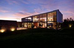 The Ecuadorian architectural firm, Diez + Muller Arquitectos, designed the Casa 2V, located in Tumbaco, Ecuador.