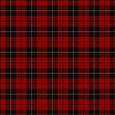 Wallace Tartan    dated by SRT 1842 but listed in notes that sett is mentions in Dunbar 1962 History of Highland Dress as being in Wilson stock c. 1800. hmm...    via SRT