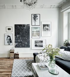 Last Trending Get all images home interior inspiration Viral gallery wall inspiration Inspiration Wand, Decoration Inspiration, Interior Inspiration, Decor Ideas, Style Inspiration, Picture Wall Living Room, Living Room Pictures, Scandinavian Home, My New Room