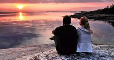 Photo about A couple is admiring a beautiful sunset on the southern coast of Finland by the Gulf of Finland. Image of evening, looking, tranquil - 18727592 Photoshop Effects, Beautiful Sunset, New Day, Finland, Coast, Stock Photos, Couple Photos, Photography, Travel