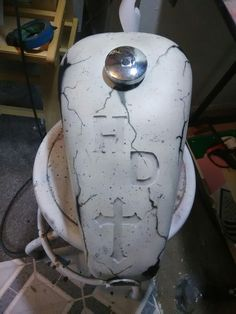 Harley Davidson Sportster tank airbrushed by Todd A plington