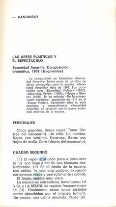 Sonoridad Amarilla. 1