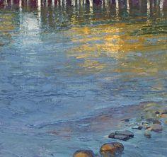 Len Chmiel, Pier Review, Monterey, oil, 38 x 39.