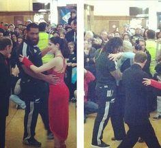 La Foto del Giorno: e gli All Blacks si misero a ballare il tango!