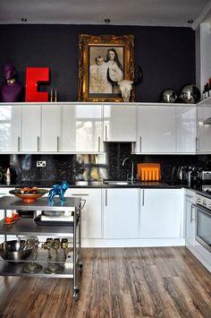 Casinha colorida: Cozinhas para os chefs! A cara deles...