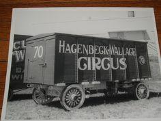 Hagenbeck & Wallace Circus Wagon