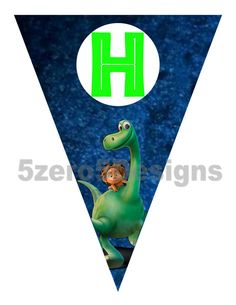 The Good Dinosaur Banner Good Dinosaur Birthday por 5zero5designs