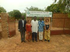 Photo de groupe dans le cade de la réunion entre le centre et l'Orange Bleue Afrique, Kamboinsé, Burkina, 2012