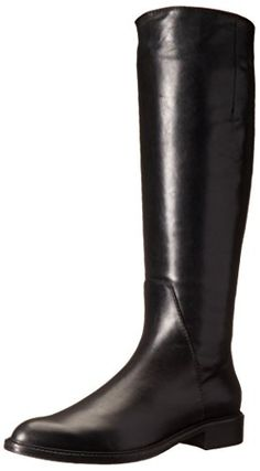Aquatalia Women's Gaia Riding Boot, Black, 7 M US * You can get additional details at the image link.