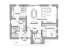 Ein Haus sollte sich über die Jahrzehnte an veränderte Lebensumstände anpassen lassen. Der Entwurf Maxime 400 von Viebrockhaus bietet mit seinem Grundriss hohe Flexibilität im Ausbau