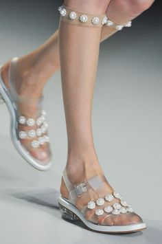 highqualityfashion:  Shoes at Simone Rocha SS 14