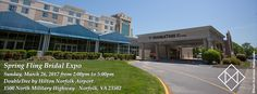 Your big day is special. With over 9000 sq. ft. of event space, the Doubletree by Hilton Norfolk Airport offers the perfect backdrop for your wedding! Register now for the Spring Fling Bridal Expo on March 25th from 2pm to 5pm. Start gathering your ideas at the Willoughby Ballroom, then visit all the participating exhibitors to help plan your big day. Stay for an exciting fashion show by Studio I Do Bridals at All The Rage in the Commonwealth Ballroom.