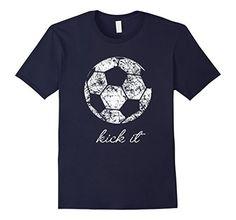 Kick It Soccer Ball Shirt, Game Day Soccer Mom