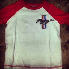 Love Mustang patches been making Mustang clothes since he was 5 months old :)