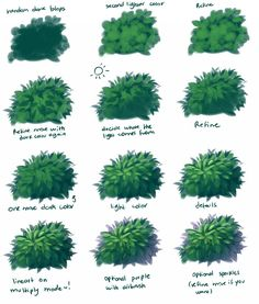 Tutorial - Nature painting with lineart by Hyan-Doodles on DeviantArt Digital Art Tutorial, Digital Painting Tutorials, Art Tutorials, Drawing Tutorials, Landscape Drawing Tutorial, Landscape Drawings, 3d Artwork, Fantasy Artwork, Art Watercolor