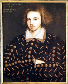Christopher Marlowe (pic) died under suspicious circumstances, not long after he too was questioned by the authorities. It is possible that he was murdered by agents close to the court of Queen Elizabeth. The up-and-coming playwright Ben Jonson was thrown in jail for satirising Queen Elizabeth in his 'Isle of Dogs' play.