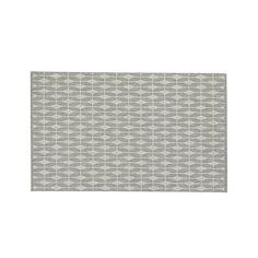Aldo Dove Grey Indoor-Outdoor 5'x8' Rug | Crate and Barrel