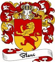 Blanc Coat of Arms  Blanc Family Crest   VIEW OUR FRENCH COAT OF ARMS / FRENCH FAMILY CREST PRODUCTS HERE