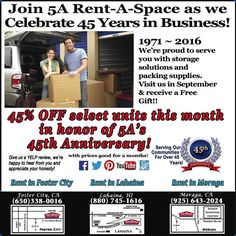In Honor Of Our Companyu0027s 45th Anniversary, We Are Offering 45% Off  Selected Units