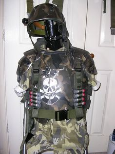 ALIENS Colonial marine armour. & ALIENS: Terry English-made Hudson Colonial Marine Armor | combat ...