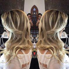 #mechas3d a técnica de criar #mechas nos #cabelos com um efeito especial de camadas que as fazem diferentes dos demais tipos de luzes, vem conhecer no #salaovirtual