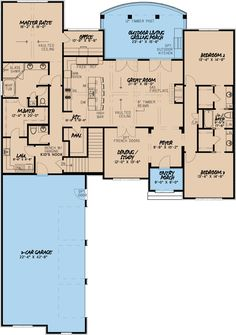 Huntcliff Manor | Best House Plans, Home Plans, Floor Plans