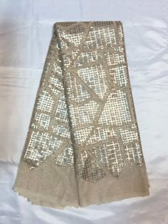 Hot sale French lace african fabric in silver color ,beautiful guipure lace for fashion dress!