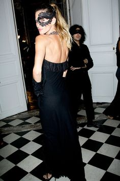 October 1 2010 Gisele at the Vogue Paris 90th birthday party.