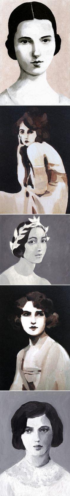 Paintings by Tali Yalonetzki <3
