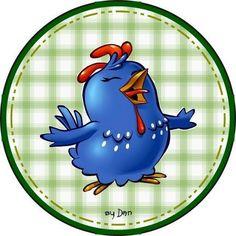 Festa da galinha pintadinha kit pronto para imprimir! Moldes de caixas e cachepot, mentos, latinha, docinho, forminha, sacolinha galinha pintadinha festa completa para imprimir grátis todos os moldes!   Imagens pra vocês!